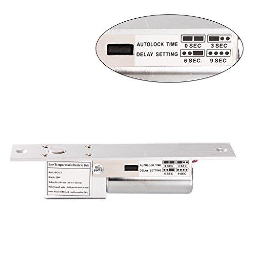 UHPPOTE Niedrige Temperatur Elektrische Schraubensicherung Fail Safe Modus DC12V Für Zugangskontrollen Holz Metall Tür