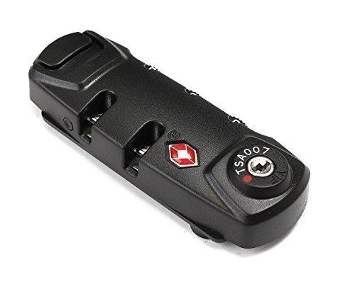 BlueBeach® TSA Candado de viaje para Maletín Seguridad para el equipaje 3 dígitos Combinación Número Candado