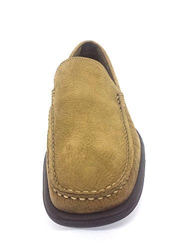 FRAU 14e4 FX chaussures Blue Man mocassins uniques de lumière supplémentaire Bison