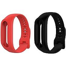 Sharplace 2 Piezas Pulsera Silicón de Reloj Correa de Repuesto para Tomtom Touch Smart Watch