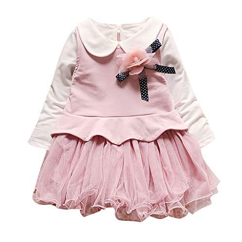 Qinmm unicorno vestito da festa ragazza bambina compleanno principessa abito bambine per bambini piccole per bambini indossano abiti da ragazza (6mesi-3anni)