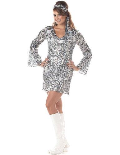 a 70er Jahre Kostüm XXL (60 70er Fancy Dress Kostüme)