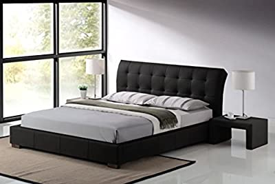 Fabio 4ft6 Double or 5ft Kingsize Designer Leather Bed & Mattress Deal Bedroom Furniture - low-cost UK light shop.