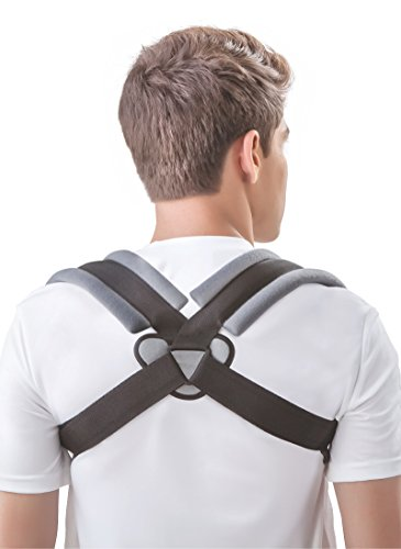 Dyna Clavicle Correction Belt with Velcro! Clavicle Brace for Collar-bone...