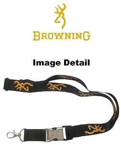 Browning Bras Company buckmark Logo or jaune Cordon Infinity Camouflage avec clip porte-clés et décapsuleur intégré deux en lot