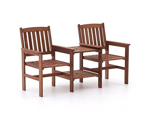 Tete a Tete Holz Guarde 2-Sitzer Gartenbank 160 cm Doppelsessel