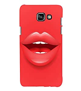 FUSON Sweet Separate Lips 3D Hard Polycarbonate Designer Back Case Cover for Samsung Galaxy A5 (6) 2016 :: Samsung Galaxy A5 2016 Duos :: Samsung Galaxy A5 2016 A510F A510M A510Fd A5100 A510Y :: Samsung Galaxy A5 A510 2016 Edition