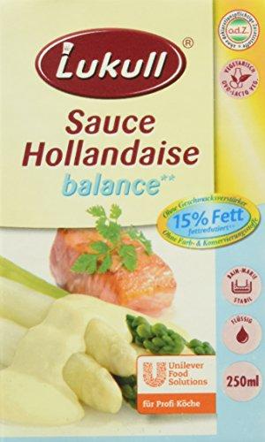 Lukull Sauce Hollandaise balance, 12er Pack (12 x 250 ml)