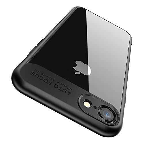 "Cover iPhone 6, Cover iPhone 6S, Joyguard Custodia iPhone 6 Custodia iPhone 6 Ibrido Rigido Plastica Retro + Morbido TPU Telaio [Protettivo] [Sottile] [Leggero] [Anti-Graffio]- 4.7""-Nero"