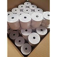 50 rollos de papel termico 80x80x12 para impresoras termicas epson compatibles tpv