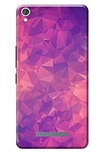 Mircomax Canvas Juice 3 + Q394 Back Case Kanvas Cases Premium Quality Designer 3D Printed Lightweight Slim Matte Finish Hard Cover for Mircomax Canvas Juice 3 + Q463