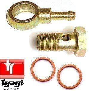 Tyagi Racing 12mm Banjo Schrauben Montage Kit für 10mm Schlauch