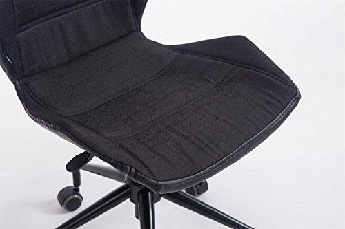 Clp sedia da ufficio roger sgabello da lavoro regolabile in