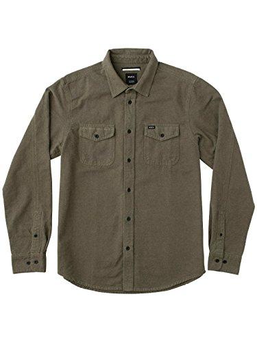 rvca-t-shirt-homme-vert-l