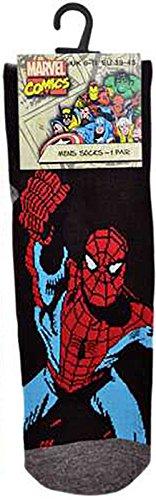 dc-calcetines-cortos-para-hombre-negro-spider-man-39-45