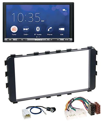 caraudio24 Sony XAV-AX3005DB USB MP3 DAB 2DIN Bluetooth Autoradio für Toyota Yaris 2006-2011 OEM-Navi