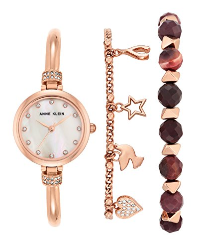anne-klein-womens-grace-quartz-watch-with-mother-of-pearl-dial-analogue-display-and-rose-gold-metal-