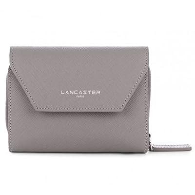 Lancaster - Portefeuille Lancaster Adele en cuir ref_lan39932-gris-chaud-13*10*3
