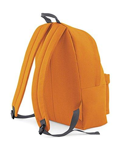 BagBase, Borsa a zainetto donna orange /Graphite Grau (orange /Graphite Grau)