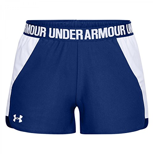 Under Armour Damen Play Up Shorts 2 Kurze Hose, blau(Formation Blue / White / White (574)), XXL