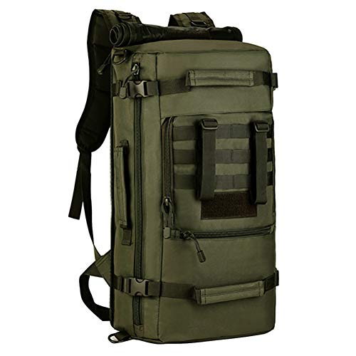 FJYBOA Rucksack MOLLE Assault Backpack Pack 3 Way Modular Attachments 50L Large Waterproof Bag Rucksack Outdoor Camping Gear -