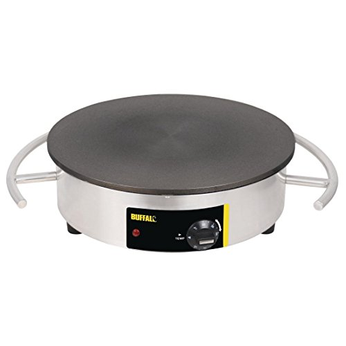 41YEa%2BmgVrL. SS500  - Buffalo Electric Crepe Maker 140X550X456mm Stainless Steel Bar Commercial