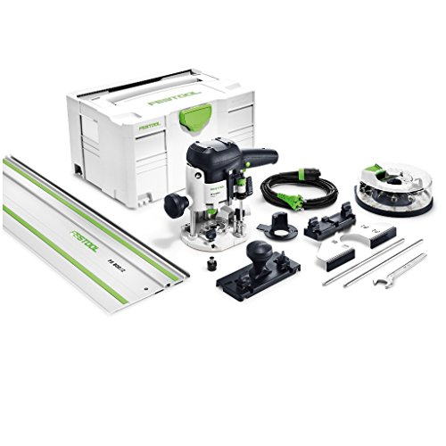Festool OF 1010 EBQ - Fresadora -Set+Fraserbox Festool