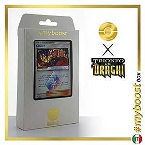 Lance (Lance) 61/70 Holo Prisma - #myboost X Sole E Luna 7.5 Trionfo dei Draghi - Box de 10 Cartas Pokémon Italiano