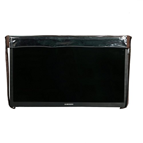 Yellow Weaves Transparent PVC LED/LCD Television Cover for 32 Inches LED/LCD