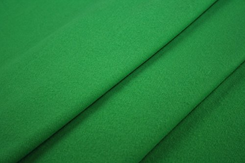 Greenscreen – Greenbox Molton Meterware 300 cm B1 Bühnenmolton