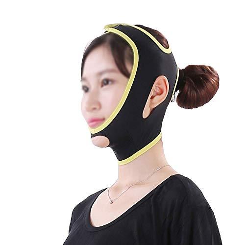 ZPWSNH Gesicht und Hals Heben dünne Gesichtsmaske Starke Maske Facelift Artefakt Facelift Gesichtswerkzeug dünnes Gesichtsverband dünne Gesichtsmaske Schönheitsmaske Maske Straffen (Size : M)