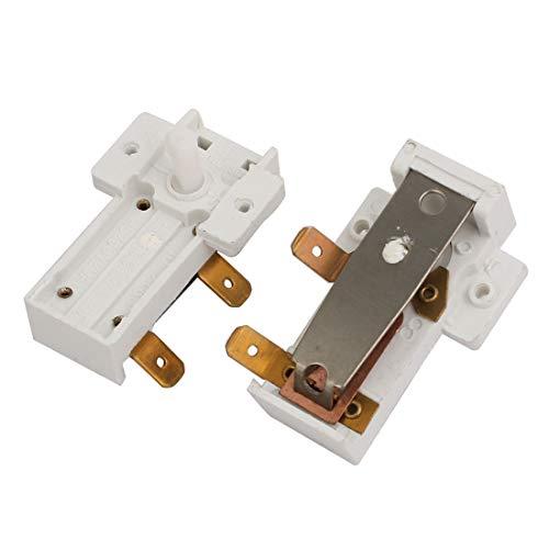 sourcing map 2 Stück AC 250 V 20A Bimetall Einstellbare Heizung Limiter Thermostat Schalter -