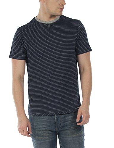 Bench Herren T-Shirt Paddock Blau (Total Eclipse NY031)