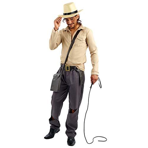 Fun Shack Herren Costume Kostüm, Movie Adventurer, L (Harrison Ford Kostüm)