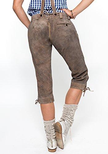 Damen Trachten Lederhose Kniebund