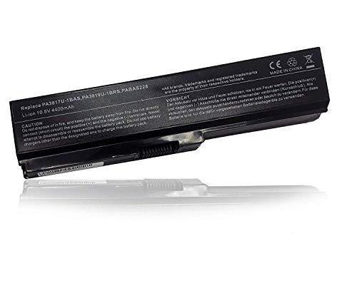 Ersetzt Laptop Akku PA3634U-1BRS PA3635U-1BAM PA3817U-1BRS PA3818U-1BRS PA3831U-1BRS für Qosmio T550/T4BB Toshiba Satellite Pro L600 L630 L650 L670 L770 Batterie 10.8V 4400mAh