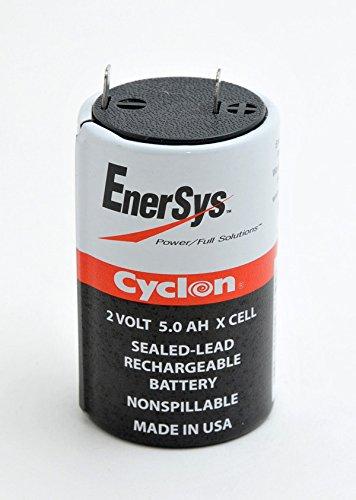 BATTERIA CYCLON 2 VOLT 5.0 AH ENERSYS RICARICABILE