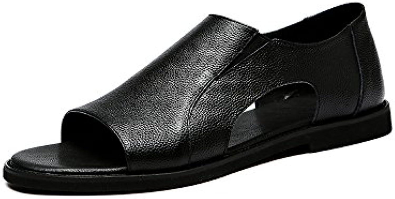 CAI Herren Schuhe Leder Vier Jahreszeiten Mens Rubber Bottom Tages Freizeitschuhe British LUN Business Formale