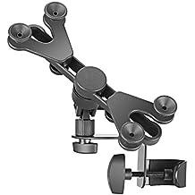 Neewer 6–11Pulgadas Ajustable Soporte de micrófono soporte para Tablet con 360Degree soporte giratorio para Apple iPad Pro, Air Mini Google NEXUS Samsung Galaxy