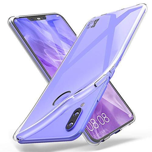 KingShark Huawei P Smart+/Huawei P Smart Plus/Huawei Nova 3i Hülle Silikon, TPU Schutzhülle Dünn Schlank Weich Flexibel Anti-Kratzer Schutzhülle Abdeckung Case Cover - Transparent
