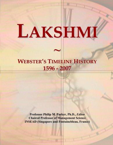 lakshmi-websters-timeline-history-1596-2007