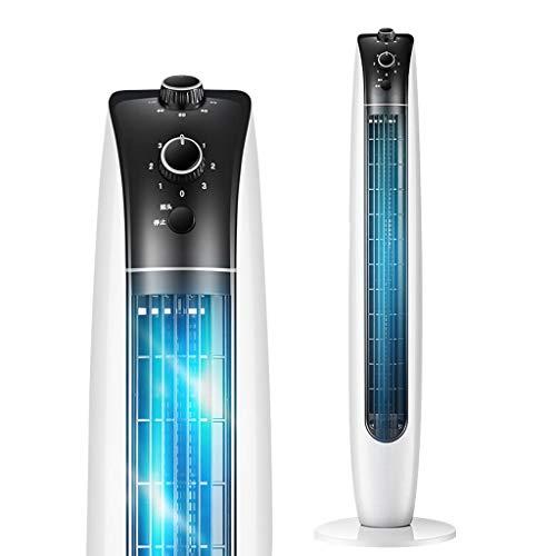 CYLQ Tower Fans Cooling, 40W Slim Oscillating 2H Timer Und 3 Modi Für Home Office Bladeless Cooled Fan Tragbare Vertikale Klimaanlage Weiß (Color : White) (Slim-tower-gehäuse)