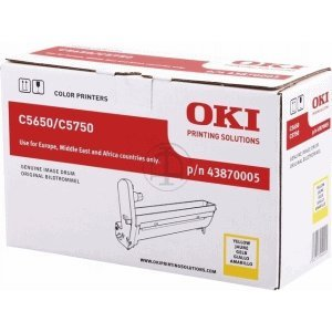 Oki Trommel Original 43870005 gelb - Opc Belt
