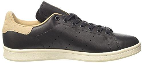 adidas Damen Stan Smith Sneaker Dekollete Schwarz (Utility Black/utility Black/st Pale Nude)