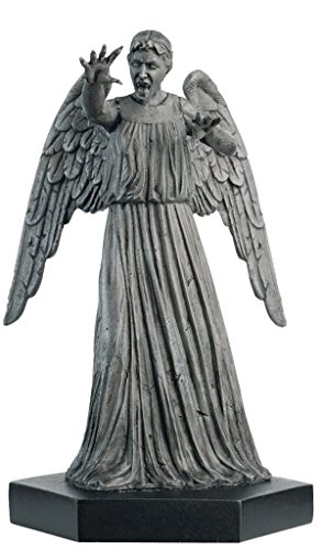Doctor Who Figurine Collection - Figure #4 - Weeping Angel - Hand Painted 1:21 Scale Model - Collector Boxed by Eaglemoss / Doctor Who