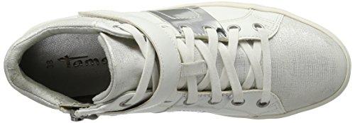 Tamaris 25833, Sneakers Basses Femme Blanc (White Comb. 112)