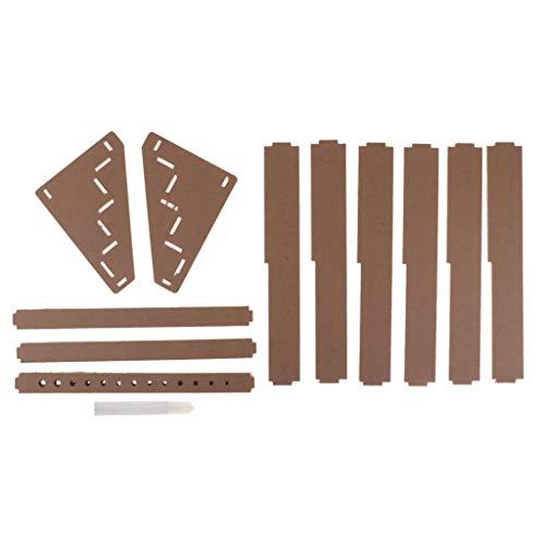 sharprepublic DIY Holz Paint Rack Paint Modular Organizer Werkzeugablage Stand Werkzeug 3 Tier - 3 Schritte -