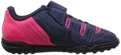 Puma Evopower 4 2 Tt V, Chaussures de football garçon Bleu (Peacoat/White/Plasma)