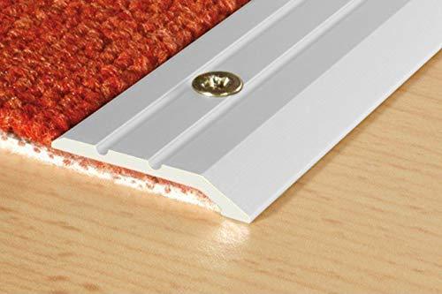 1 Stück | Abschlussleiste | Aluminium | rostfrei | Effector | 1800x30x3mm | A01 | silber