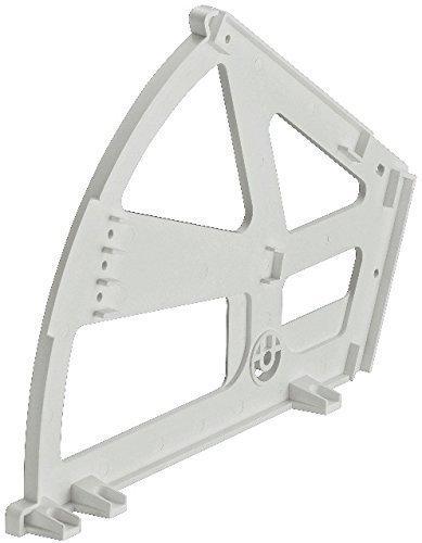 gedotec® à bascule Ferrure pour armoires Chaussures avec un compartiment | drehbesc hlag plastique blanc | Produit de qualité pour votre intérieur